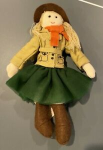 Pottery Barn Kids Australia Girl Doll Ornament