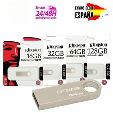 Pendrive memoria USB 2.0 3.1 3.0 Kingston DT 8/16/32/64/128GB Unidad Flash Drive