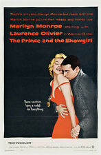 "Marilyn Monroe Prince and the Showgirl, Movie Poster  Replica 13x19"" Photo Print"
