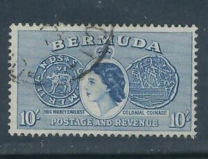 Bermuda SC # 161 Earliest Hog Coin . Used
