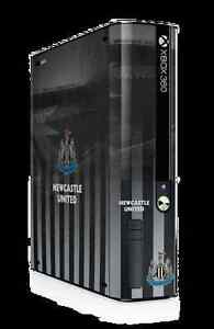 Xbox 360 E GO Console Skin Sticker Newcastle Utd Football Club Official New