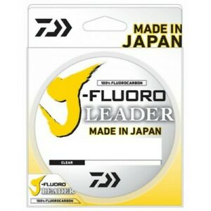 Daiwa JFL50-50 Fluorocarbon Clear 50 Lb 50 Yd Fishing Line
