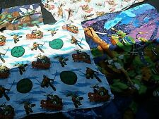 Teenage Mutant Ninja Turtles Twin Size Comforter & 3 Piece Sheet Set Nickelodeon