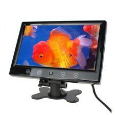 Monitor 9 Pollici TFT LED A Colori Pulsanti A Sfioramento Con Telecomando Per Au