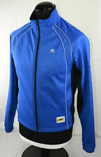 GO SPORT Wind Tex Bleu Windtex à manches longues cyclisme veste M Jersey shirt Top