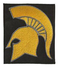 Patch écusson patche Spartiate Spartan casque helmet symbole thermocollant