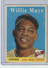 1958 Topps #5 Willie Mays  - San Francisco Giants