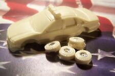 HO SCALE AUTO 1996 CHEVROLET CAPRICE POLICE SQUAD RESIN