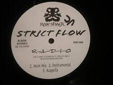 "Strict Flow ""People on Lock/R-A-D-I-O"" 12"" Single"