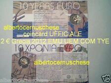 Coincard 2 euro 2012 GRECIA Grece Griechenland Greece EMU UEM COM TYE Греция