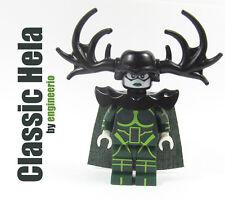 LEGO Custom - Classic Hela - Marvel Superheroes mini figure Thor ragnarok hulk