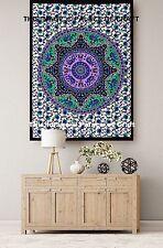 Star Elephant Mandala Indian Yoga Mat Wall Hanging Throw Tapestry Table Runner