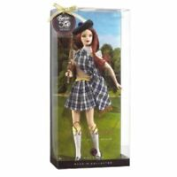 SCOTLAND Barbie Collector Scottish Dolls of the World NEW Rare NRFB Pink Label