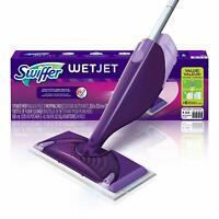Swiffer WetJet Spray Mop Floor Tile Hardwood Laminate Cleaner Starter Kit Broom