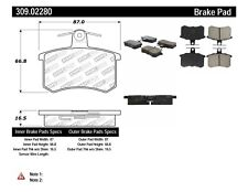 Disc Brake Pad Set-S Turbo Rear Stoptech 309.02280