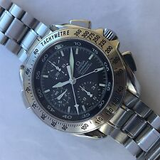 OMEGA SPEEDMASTER  CHRONOGRAPH AUTOMATIC SPLIT TIME RATTRAPANTE CARBON DIAL