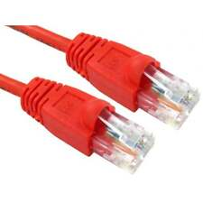 1 M RJ45 Snagless Cat5e Réseau Ethernet Câble Patch plomb Premium 24AWG UTP rouge