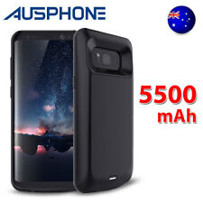 5500mAh Backup Battery Power Bank Charger Case Cover For Samsung Galaxy S8+ Plus
