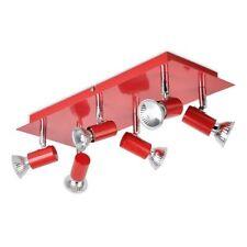 Plafonniers et lustres suspensions rouge pour la salle à manger