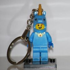 Blue Unicorn Guy Keychain