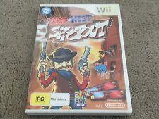 Wild West Shootout -- (Nintendo Wii, 2011) Free Postage