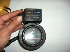 YAMAHA FZR400 TEMPERATURE GAUGE AND PILOT LIGHT ASSEMBLY