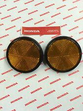 HONDA CT70 CT70H CT90 CT110 CB550 CB750 GL1000 FORK REFLECTOR LENS (2) OEM 340