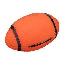 Chien Chiot Animal Domestique Amusement caoutchouc Balle Rugby Jouet Dental Jeux