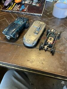 1/24 Slot Cars Vintage Parts Or Repair. Untested