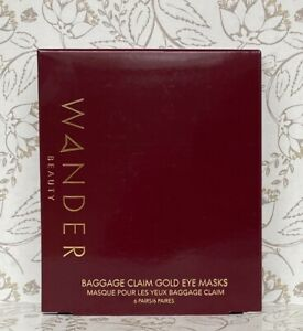 Wander Beauty Baggage Claim Gold Eye Masks 6 Pairs