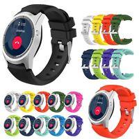Silicone Wristwatch Band Straps Bracelet for ZTE Quartz ZW10 Android Smart Watch