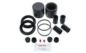 for JAGUAR XJ 2009-2020 FRONT L & R Brake Caliper Seal Kit +Pistons (BRKP481)