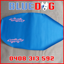 KAWASAKI KX125 KX250 H1 1990 90 BLUE SEAT COVER **Aust Stock** KP542