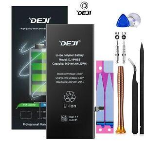 GENUINE DEJI® OEM REPLACEMENT BATTERY FOR APPLE iPHONE SE 1624mAh + TOOL KIT UK