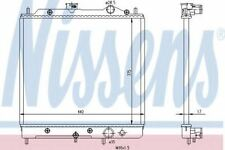 New Radiator engine cooling for MITSUBISHI-PROTON 62817 Nissens Top Quality