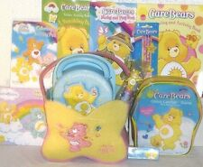 NEW CARE BEARS easter TOY GIFT BASKET TOYS GAME PLAY SET plush birthday gift set