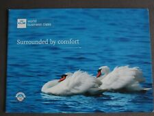 KLM World Business Class Surrounded By Comfort Promotional Brochure