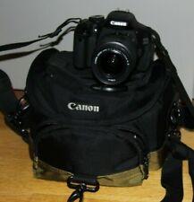 Fotocamera Canon EOS 600D reflex digitale + obiettivo 18-55 IS + borsa e scheda