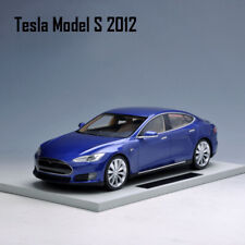 LS Collectibles 1:18 Scale Tesla model S 2012 Blue Car Model Limited Collection