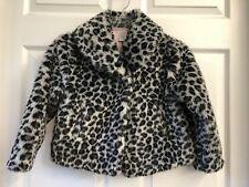 Gymboree Girls 5/6 Dressy Leopard Print Animal Jacket Coat