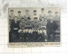 1967 Hollman's Sports Club Team Photo, Pope, Tonking, Vanstone, Splatt, Teoray