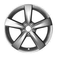 02479 Factory, Oem 18X7.5 Alloy wheel Bright Silver Metallic Full Painted
