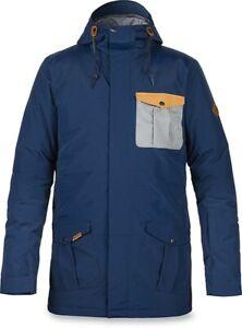 Dakine Men's Rampart-65 Insulated Snowboard Jacket Large Midnight Blue New