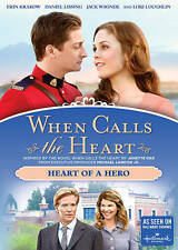 WHEN CALLS THE HEART - HEART OF A HERO New DVD Hallmark From Season 3