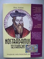 Nostradamus Testament Prohpetie oder Botschaft aus der Zukunft 1996