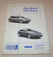 Werkstatthandbuch Einführung Fiat Bravo / Fiat Brava - Stand 1995!