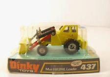 Dinky Toys GB n° 437 MUIR-HILL 2WL Loader tractopelle tracteur en boite NMIB