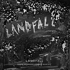 LAURIE ANDERSON & KRONOS QUARTET CD - LANDFALL (2018) - NEW UNOPENED