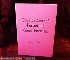 THE SECRET OF PERPETUAL GOOD FORTUNE Finbarr Occult Magic White Grimoire Magick