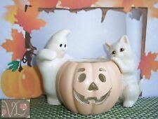 Collectible Lenox Peek-A-Boo Friends Votive in Box w/ Coa for Halloween - Autumn